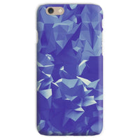 Blue Crystal Shape Pattern Phone Case Iphone 6S / Snap Gloss & Tablet Cases