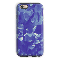 Blue Crystal Shape Pattern Phone Case Iphone 6S / Tough Gloss & Tablet Cases
