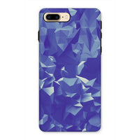 Blue Crystal Shape Pattern Phone Case Iphone 7 Plus / Tough Gloss & Tablet Cases