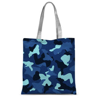 Blue Marine Army Camo Sublimation Tote Bag 15X16.5 Accessories