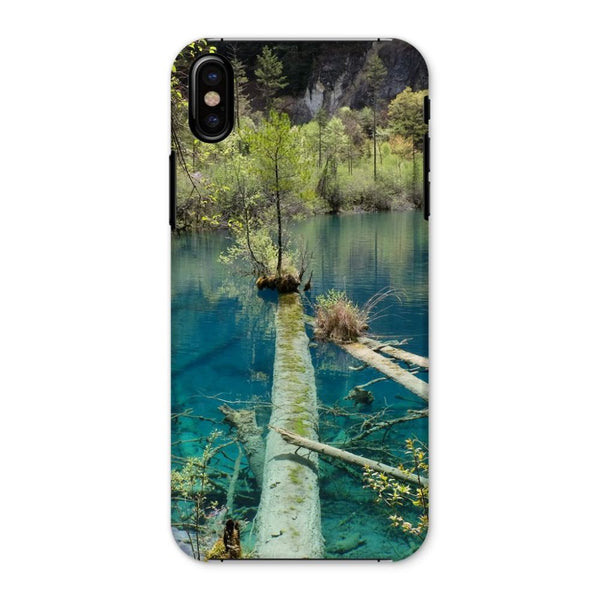 Blue Water Lake Phone Case Iphone X / Snap Gloss & Tablet Cases