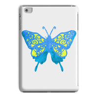 Blue Yellow Butterfly Tablet Case Ipad Mini 2 3 Phone & Cases