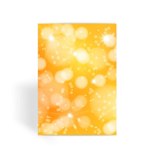 Blurred Sunshine Bubbles Greeting Card 1 Prints