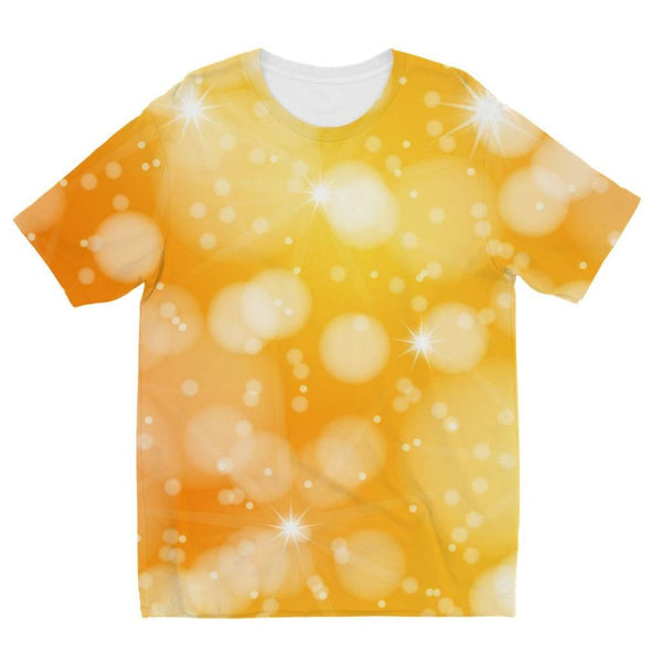 Blurred Sunshine Bubbles Kids Sublimation T-Shirt 3-4 Years Apparel