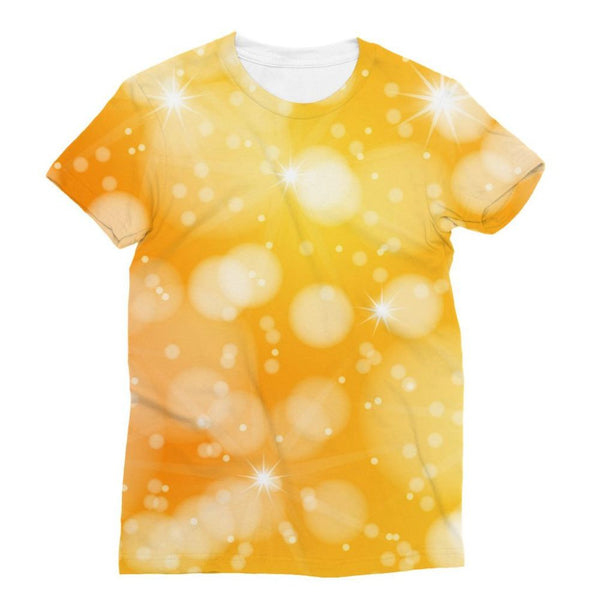 Blurred Sunshine Bubbles Sublimation T-Shirt Xs Apparel