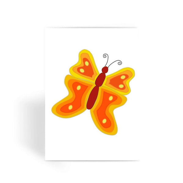 Blurry Butterfly Greeting Card 1 Prints