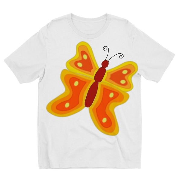 Blurry Butterfly Kids Sublimation T-Shirt 3-4 Years Apparel