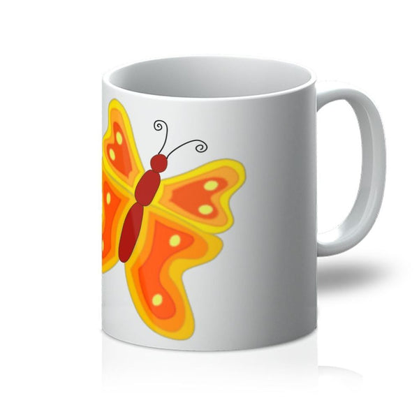 Blurry Butterfly Mug 11Oz Homeware