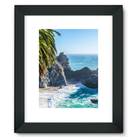 Breathtaking Tropical Beach Framed Fine Art Print 12X16 / Black Wall Decor