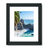 Breathtaking Tropical Beach Framed Fine Art Print 24X32 / Black Wall Decor