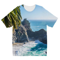 Breathtaking Tropical Beach Kids Sublimation T-Shirt 3-4 Years Apparel