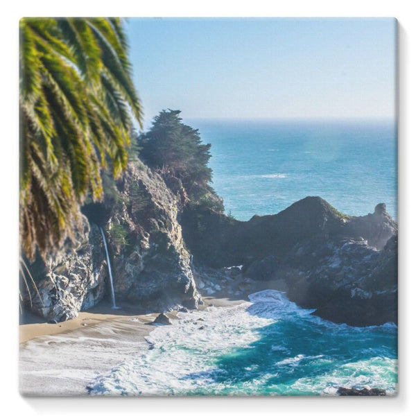 Breathtaking Tropical Beach Stretched Canvas 10X10 Wall Decor