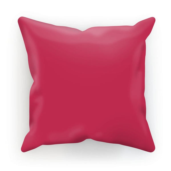 Brick Red Cushion Linen / 12X12 Homeware