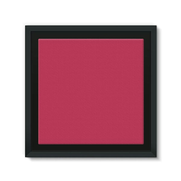 Brick Red Framed Canvas 12X12 Wall Decor
