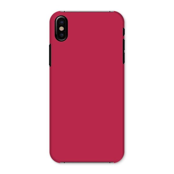 Brick Red Phone Case Iphone X / Snap Gloss & Tablet Cases