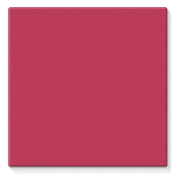 Brick Red Stretched Canvas 10X10 Wall Decor