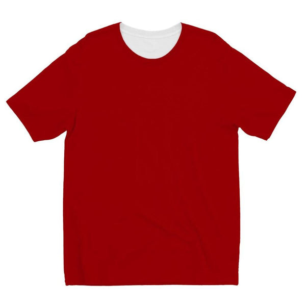 Bright Red Color Kids Sublimation T-Shirt 3-4 Years Apparel