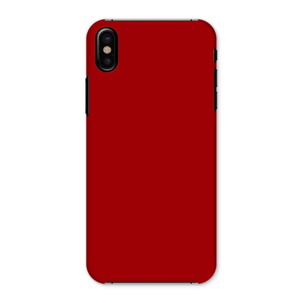 Bright Red Color Phone Case Iphone X / Snap Gloss & Tablet Cases