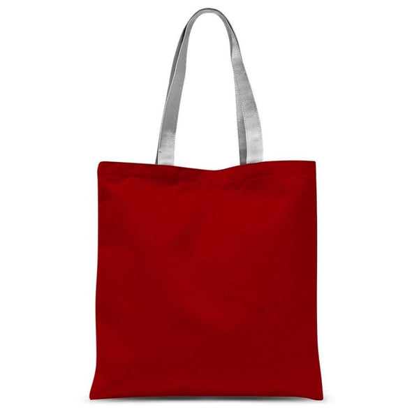 Bright Red Color Sublimation Tote Bag 15X16.5 Accessories