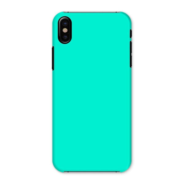 Bright Turquoise Color Phone Case Iphone X / Snap Gloss & Tablet Cases