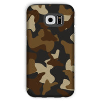 Brown Army Camo Pattern Phone Case Galaxy S6 / Tough Gloss & Tablet Cases