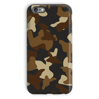 Brown Army Camo Pattern Phone Case Iphone 6 Plus / Tough Gloss & Tablet Cases