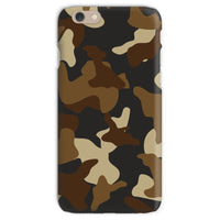 Brown Army Camo Pattern Phone Case Iphone 6S / Snap Gloss & Tablet Cases