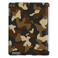 Brown Army Camo Pattern Tablet Case Ipad 2 3 4 Phone & Cases