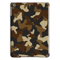 Brown Army Camo Pattern Tablet Case Ipad Air 2 Phone & Cases