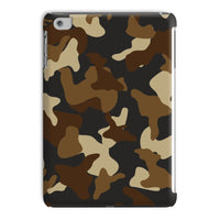 Brown Army Camo Pattern Tablet Case Ipad Mini 4 Phone & Cases
