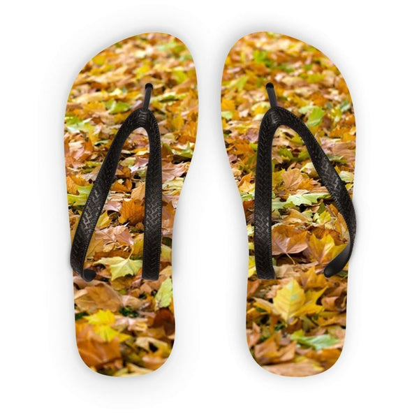 Brown Autum Flip Flops S Accessories