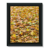 Brown Autum Framed Eco-Canvas 11X14 Wall Decor