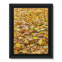 Brown Autum Framed Eco-Canvas 18X24 Wall Decor