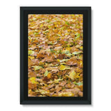 Brown Autum Framed Eco-Canvas 20X30 Wall Decor