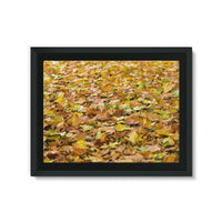 Brown Autum Framed Eco-Canvas 24X18 Wall Decor