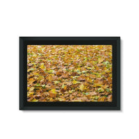 Brown Autum Framed Eco-Canvas 30X20 Wall Decor