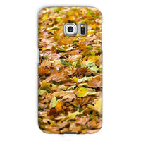 Brown Autum Phone Case Galaxy S6 Edge / Snap Gloss & Tablet Cases