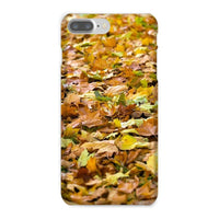 Brown Autum Phone Case Iphone 8 Plus / Snap Gloss & Tablet Cases