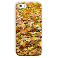 Brown Autum Phone Case Iphone Se / Snap Gloss & Tablet Cases