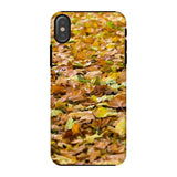 Brown Autum Phone Case Iphone X / Tough Gloss & Tablet Cases