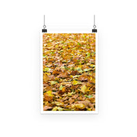 Brown Autum Poster A3 Wall Decor