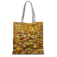 Brown Autum Sublimation Tote Bag 15X16.5 Accessories