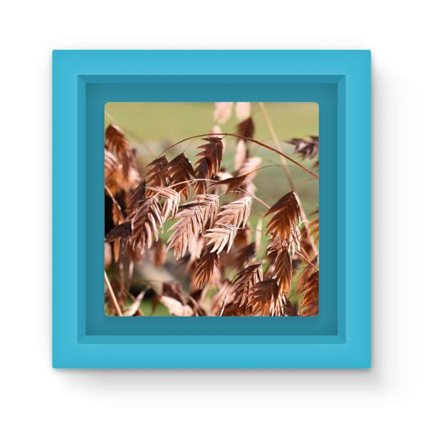 Brown (Dried) Plants Outdoor Magnet Frame Light Blue Homeware