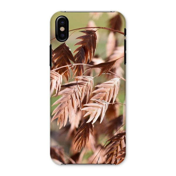 Brown (Dried) Plants Outdoor Phone Case Iphone X / Snap Gloss & Tablet Cases