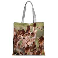 Brown (Dried) Plants Outdoor Sublimation Tote Bag 15X16.5 Accessories