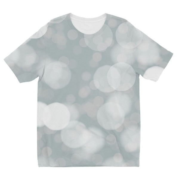 Buckthorn Branches In Winter Kids Sublimation T-Shirt 3-4 Years Apparel