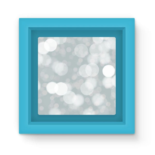 Buckthorn Branches In Winter Magnet Frame Light Blue Homeware