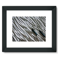 Building Wall Pattern Framed Fine Art Print 16X12 / Black Wall Decor