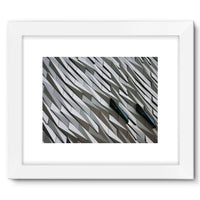 Building Wall Pattern Framed Fine Art Print 16X12 / White Wall Decor