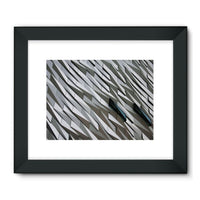 Building Wall Pattern Framed Fine Art Print 24X18 / Black Wall Decor